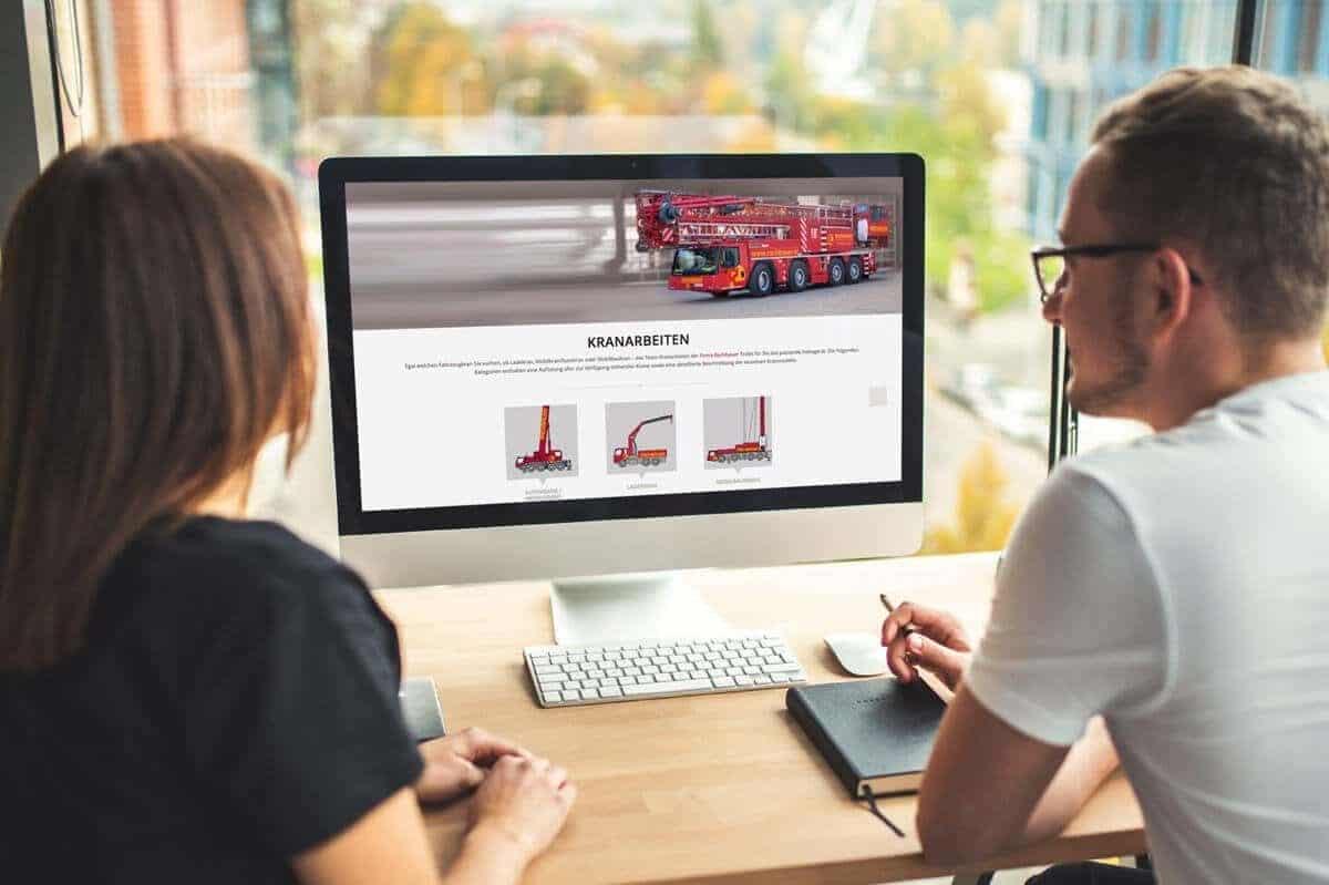 WordPress aus Berlin - Neue Website für Rachbauer Straßwalchen / Salzburg - Responsive Webdesign