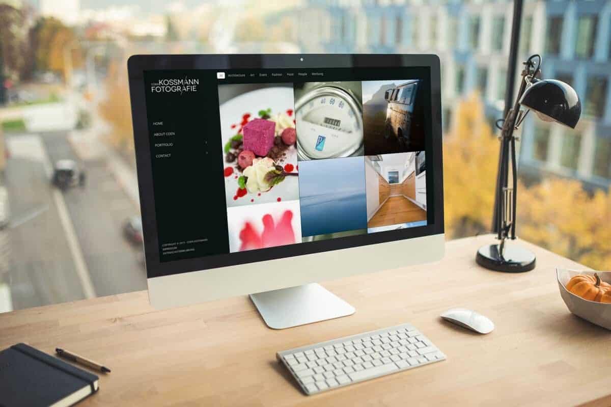 WordPress aus Berlin - Neue Website für den Fotografen Coen Kossmann aus Salzburg - Responsive Webdesign
