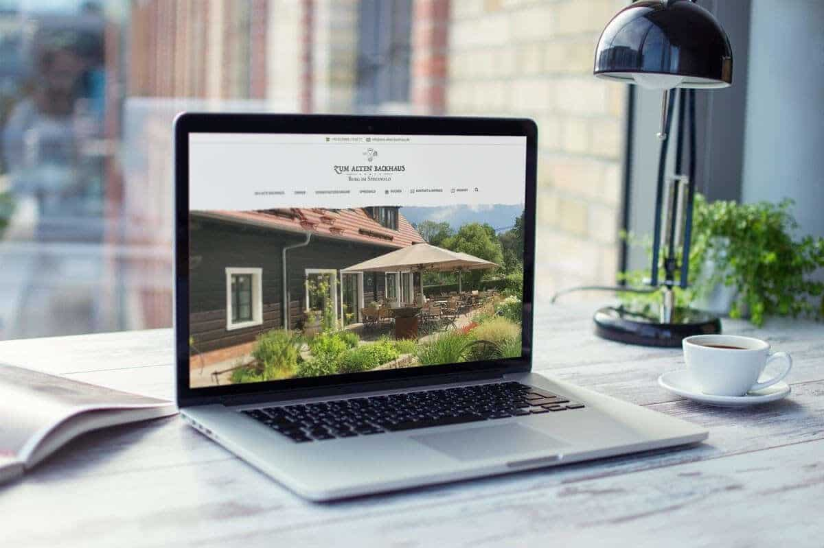 WordPress aus Berlin - Neue Website für Das Alte Backhaus - Responsive Webdesign