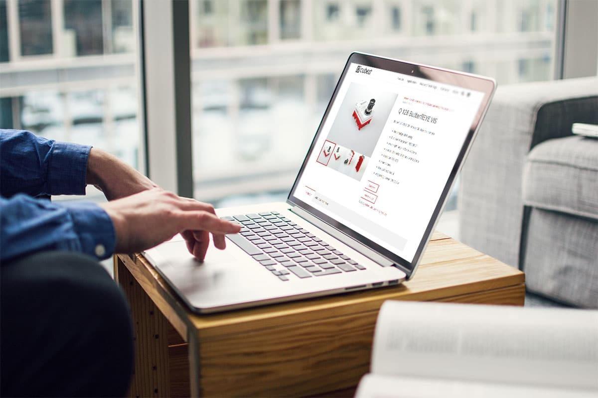 medienvirus - WordPress und WooCommerce aus Berlin - Onlineshop für die Cubert GmbH - Wir warten Ihren WooCommerce Onlineshop