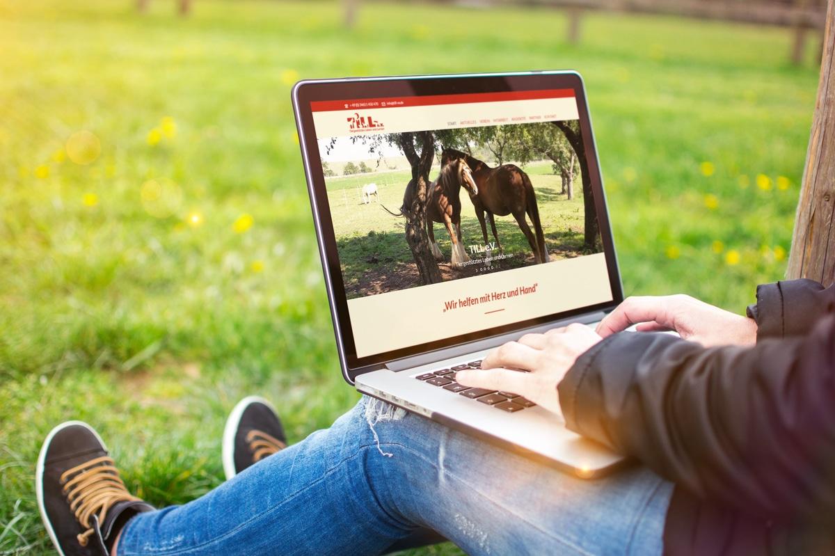 Eine neue Website für den TILL e.v. von medienvirus - WordPress & WooCommerce aus Berlin - responsive Webdesign
