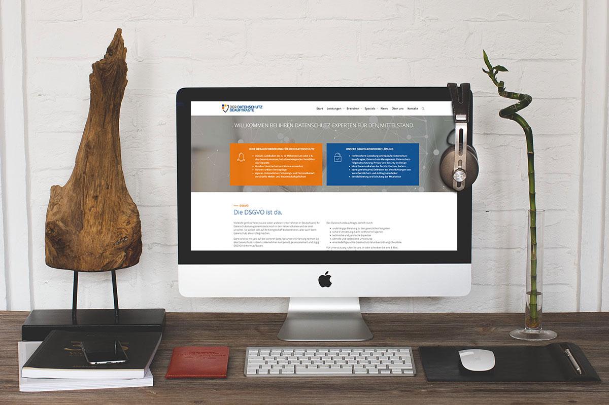 medienvirus - WordPress und WooCommerce aus Berlin - WordPress Webseite für Der Datenschutzbeauftragte - Wir warten Ihre WordPress Webseite