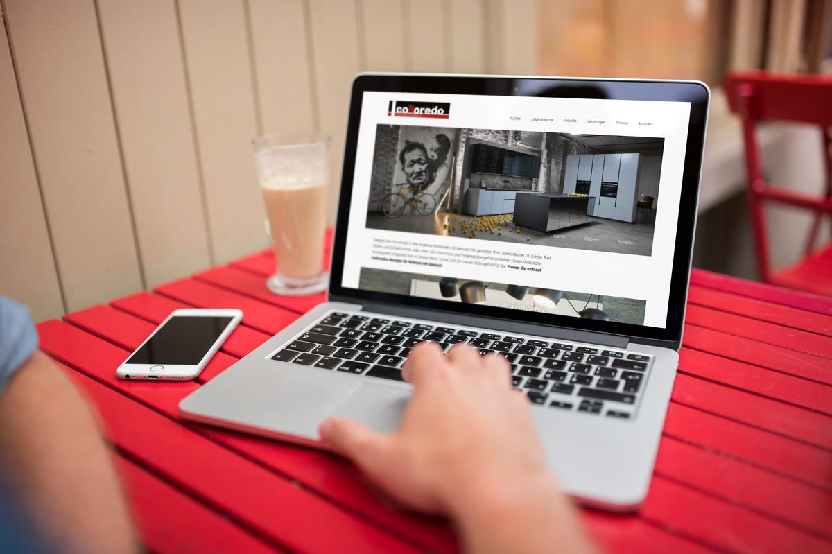 medienvirus - WordPress & WooCommerce aus Berlin - neue Webseite für Mels-Colloredo - Innenarchitekt aus Österreich - Responsive Webdesign