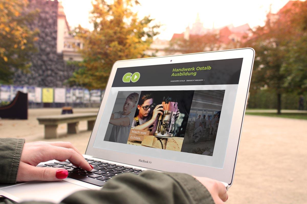 medienvirus - WordPress & WooCommerce aus Berlin - neue Webseite für Handwerk Ostalb Azubi