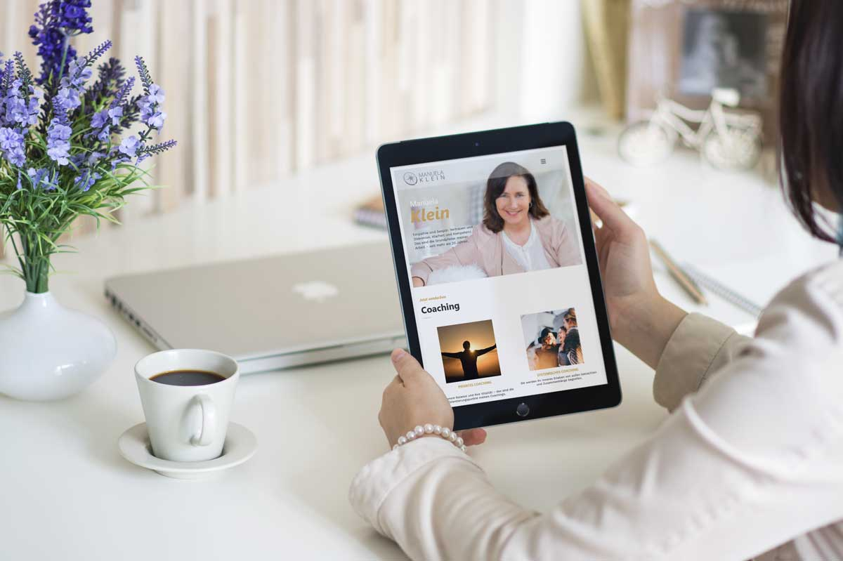 medienvirus - WordPress & WooCommerce aus Berlin - neue Webseite für Manuela Klein