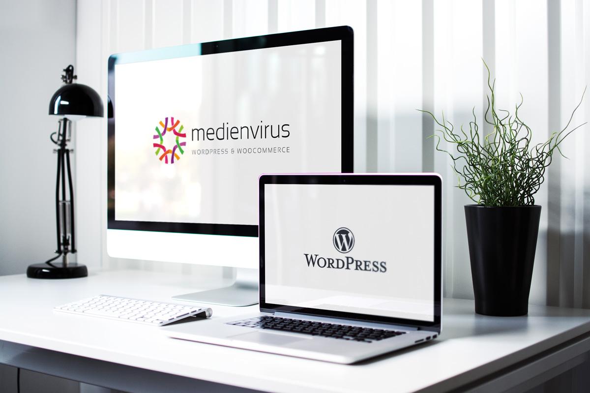 WordPress und WooCommerce aus Berlin direkt von den Experten - medienvirus.de