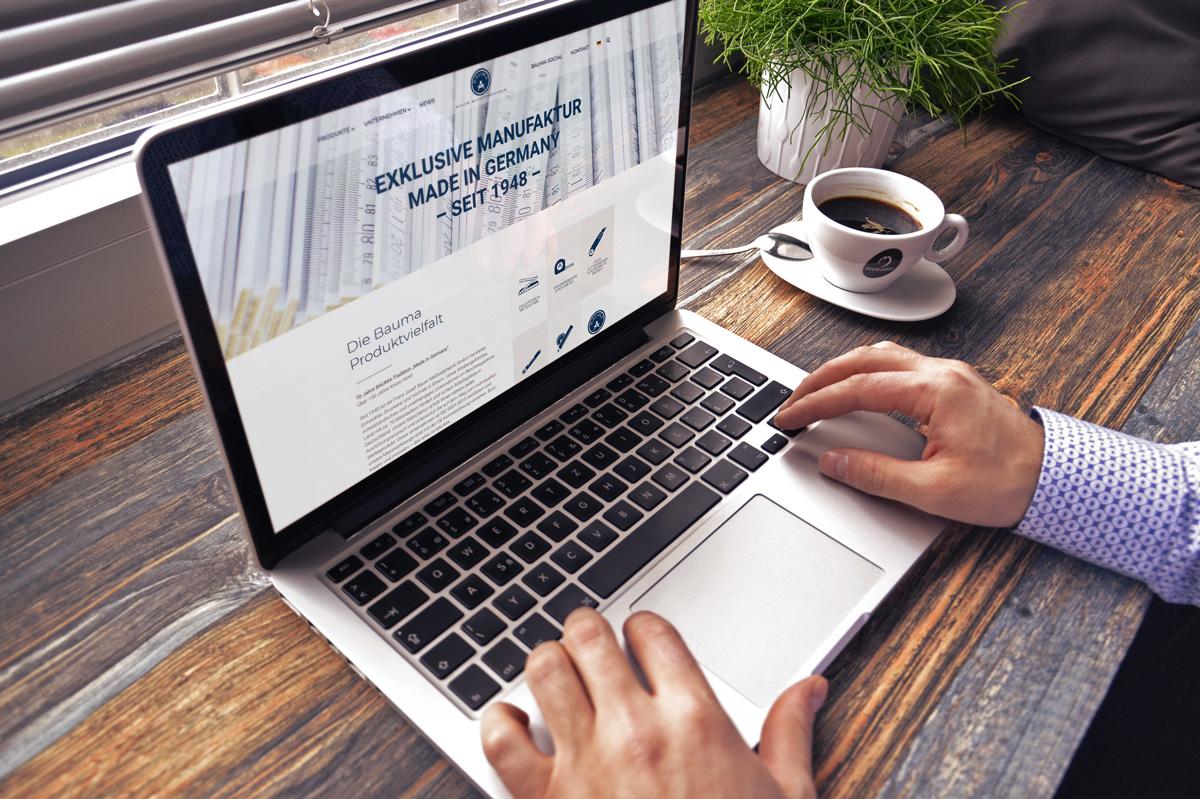 WordPress und WooCommerce aus Berlin direkt von den Experten - medienvirus.de – neue Webseite für Bauer Massstabfabrik