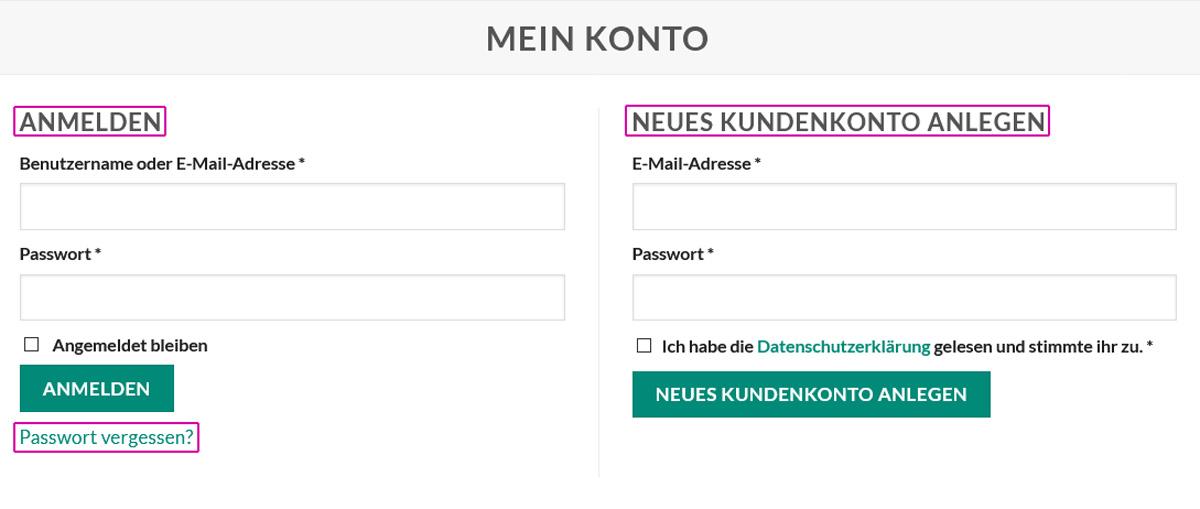 medienvirus.de - FAQ - Kunden LogIn