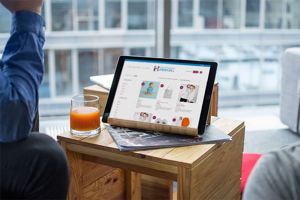 medienvirus - WordPress und WooCommerce aus Berlin - Onlineshop für Hauptstadt Print 24 - Wir warten Ihren WooCommerce Onlineshop