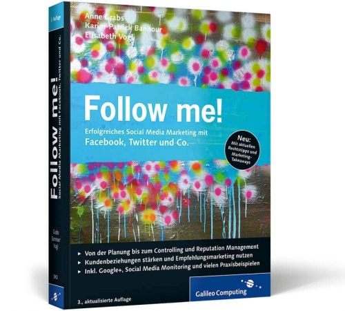 Follow me! - Social Media Buch