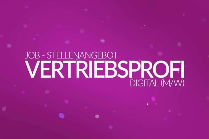 Job - Stellenanzeige - Webdesigner, Vertriebsprofi Digital (m/w) 2017 - medienvirus