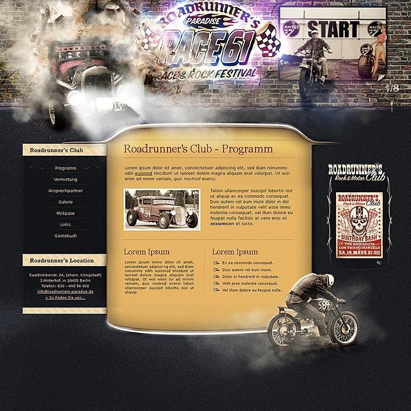 Medienvirus - get infected - Webagentur Portfolio Best of: Roadrunners