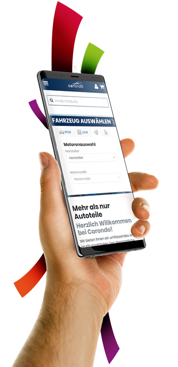 medienvirus - WordPress & WooCommerce aus Berlin - neue Webseite für carondo - Responsive Webdesign