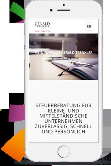 WordPress aus Berlin - Dienstleistung und Unternehmen Website - Portfolio Gerald Trenkler by medienvirus - get infected - 02