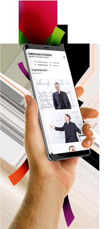 medienvirus - WordPress & WooCommerce aus Berlin - neue Webseite für Christian Sterrer - Projektmanagement - Speaker & project expert - Responsive Webdesign