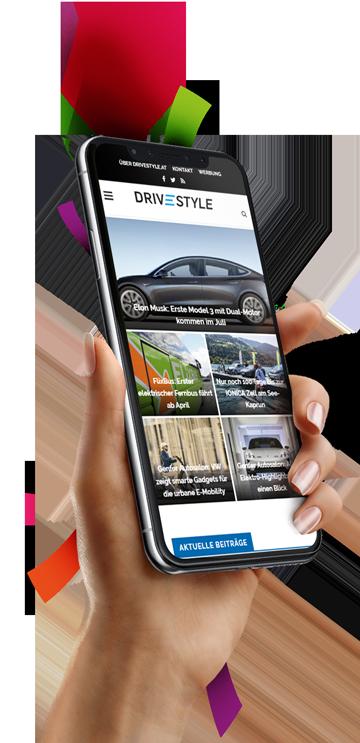 medienvirus - WordPress & WooCommerce aus Berlin - neue Webseite für Drivestyle - Responsive Webdesign