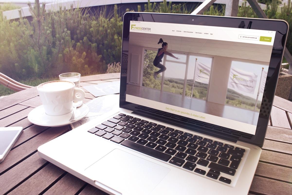 Eine neue Website für das Fitnesscenter Waizenkirchen von medienvirus - WordPress & WooCommerce aus Berlin - responsive Webdesign