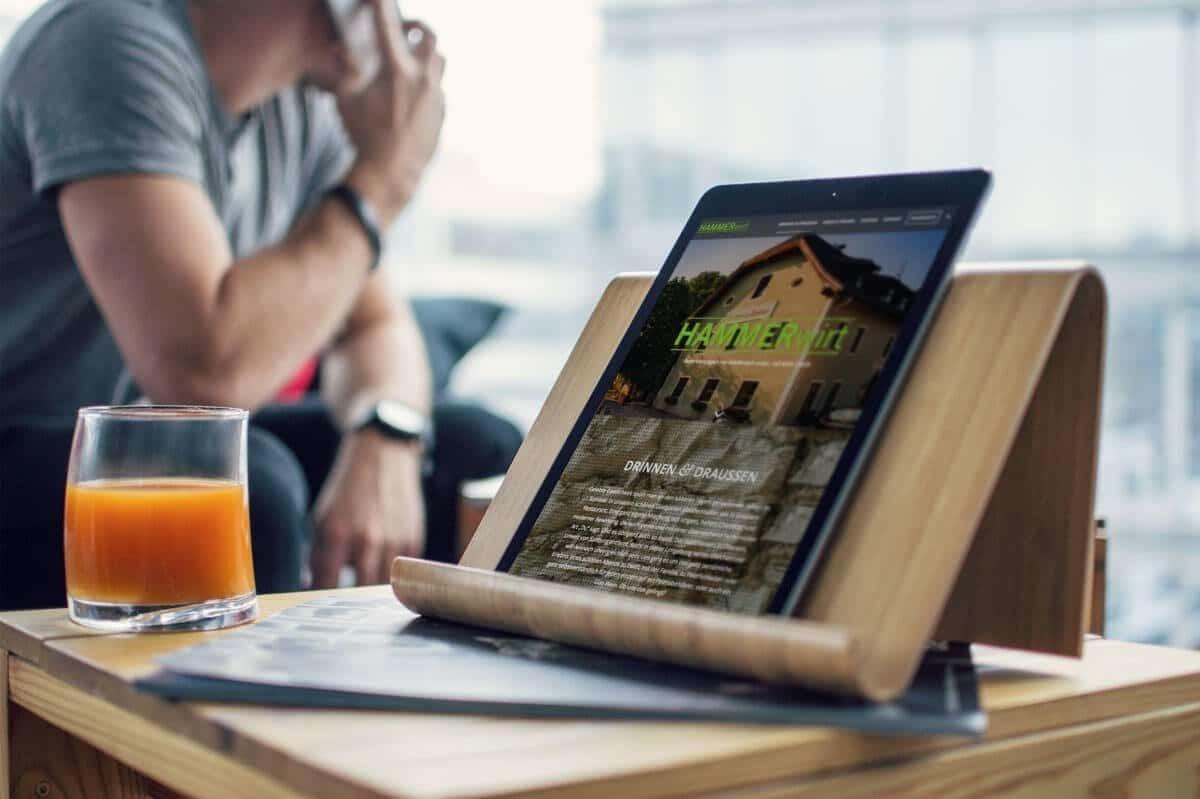 WordPress aus Berlin - Neue Website für das Restaurant Hammerwirt / Salzburg - Responsive Webdesign