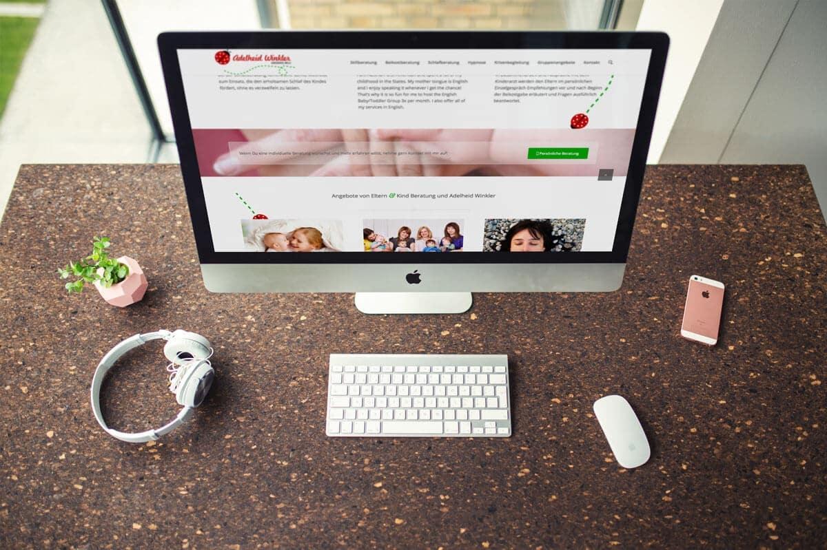WordPress aus Berlin - Neue Website für die Eltern- und Kindberatung aus Salzburg - Responsive Webdesign