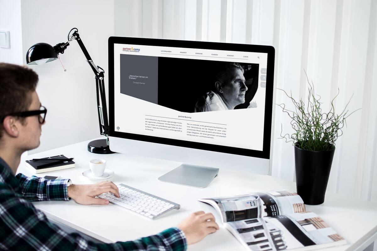 WordPress aus Berlin - Neue Website für Partner und Comp - Responsive Webdesign