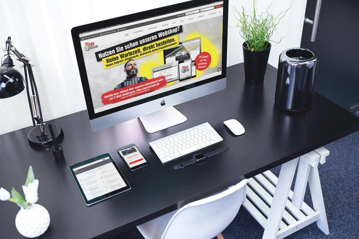 WordPress aus Berlin - Neue Website für Top Autoteile - Responsive Webdesign