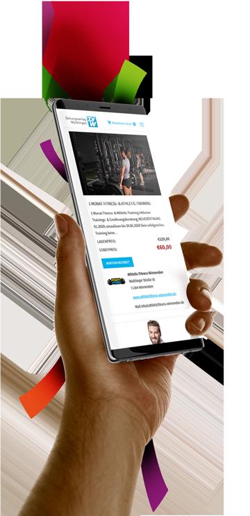 medienvirus - WordPress & WooCommerce aus Berlin - neue Webseite für die Gutscheinauktion ZVW - Responsive Webdesign