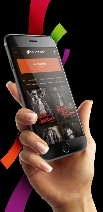 medienvirus - WordPress & WooCommerce aus Berlin - neue Webseite für den Kayenne Verlag - Responsive Webdesign