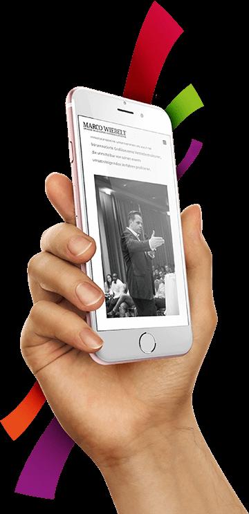 WordPress aus Berlin - Neue Website für Marco Wiebelt - Responsive Webdesign