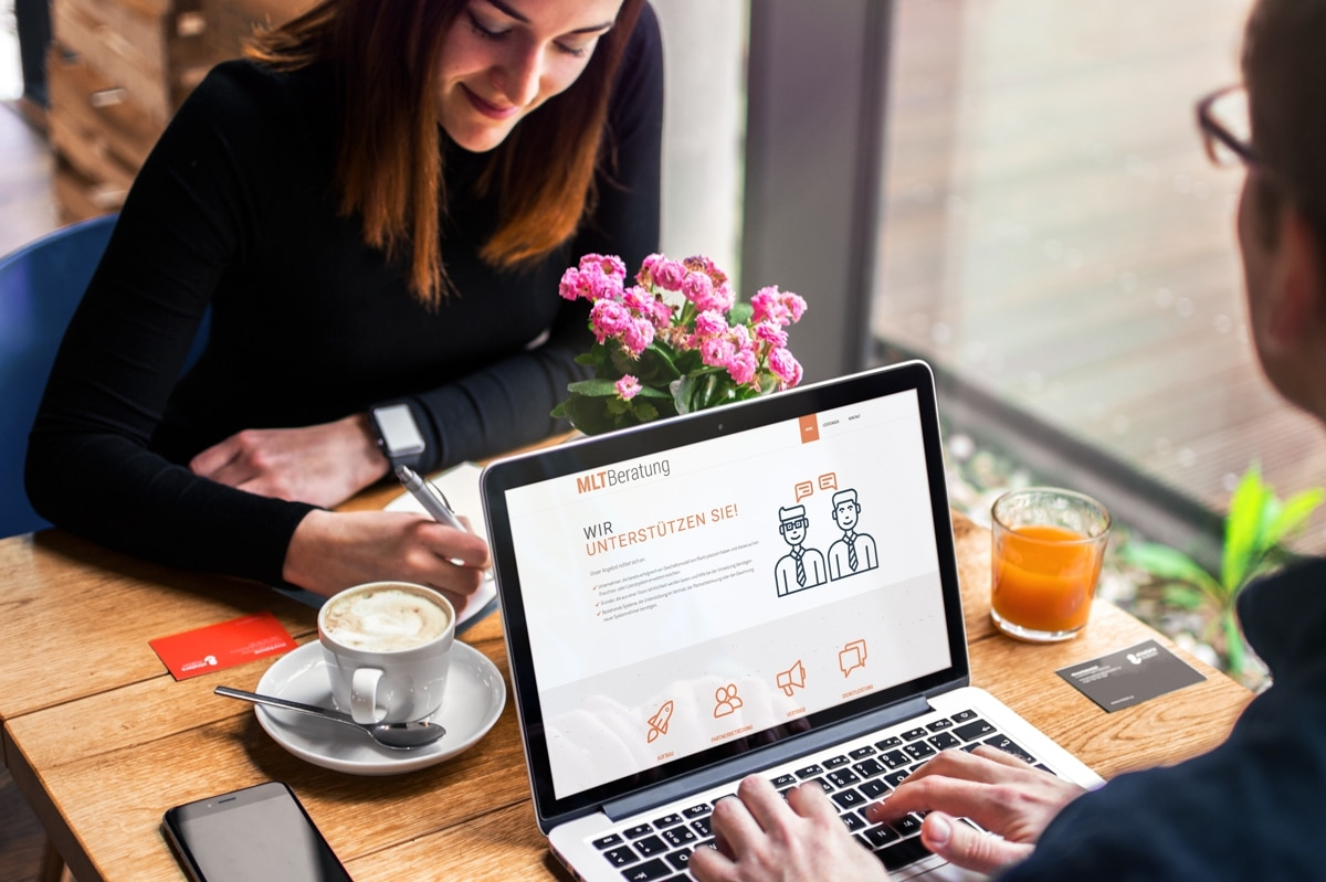 Eine neue Website für MLT Beratung von medienvirus - WordPress & WooCommerce aus Berlin - responsive Webdesign