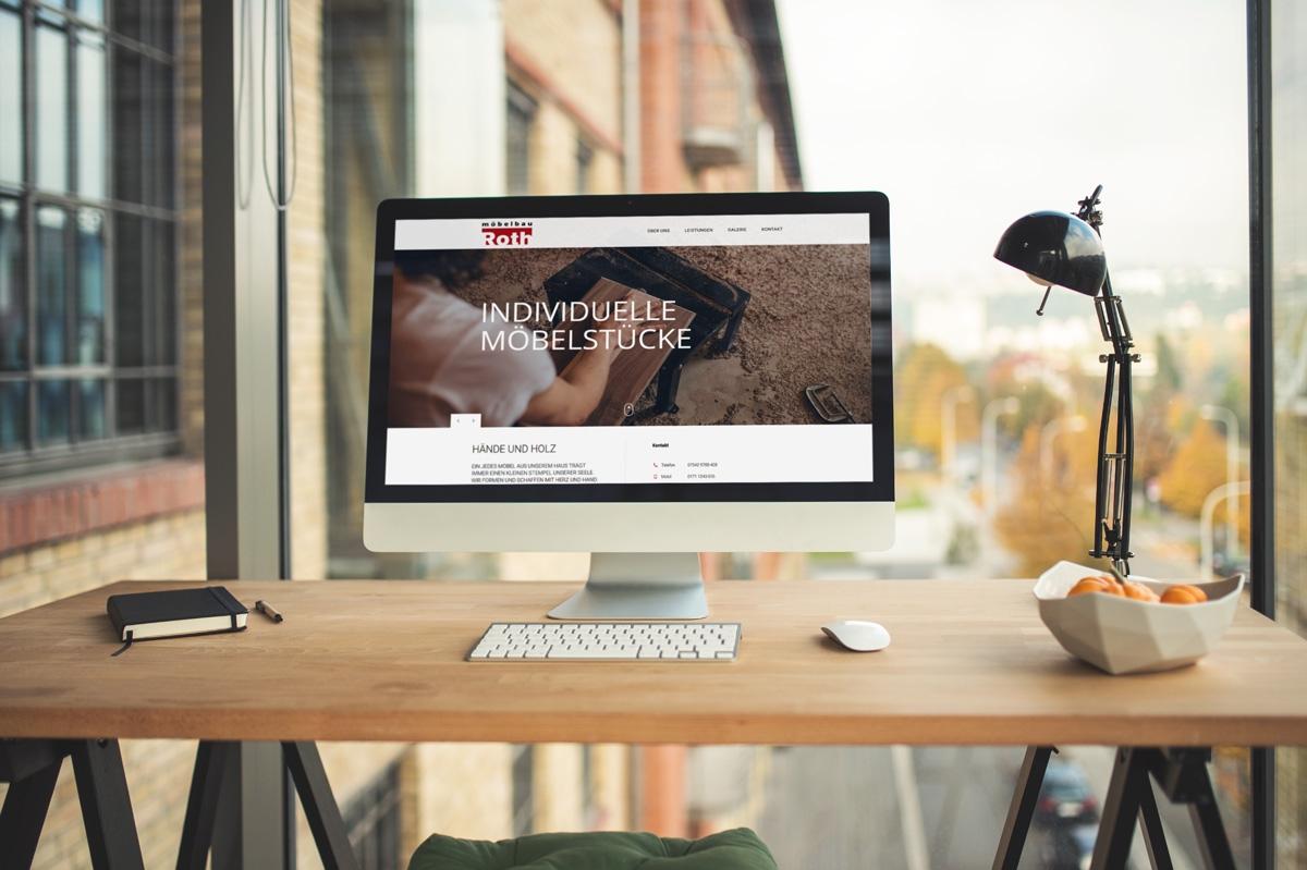 WordPress und WooCommerce aus Berlin direkt von den Experten - medienvirus.de – neue Webseite für Möbelbau Roth