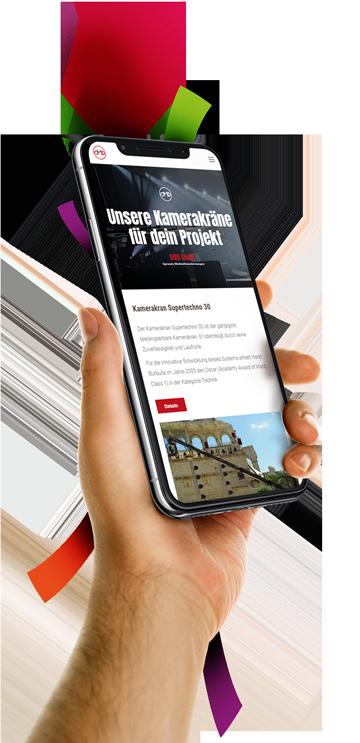medienvirus - WordPress & WooCommerce aus Berlin - neue Webseite für die OMD GmbH - Optimale Mediendienstleistungen - Kamerakräne - Seilkameras - Zubehör - Responsive Webdesign