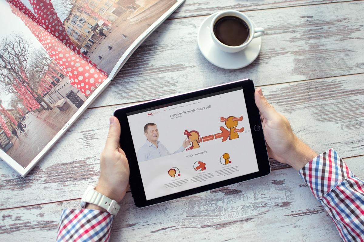 Eine neue Website für PanMenta von medienvirus - WordPress & WooCommerce aus Berlin - responsive Webdesign