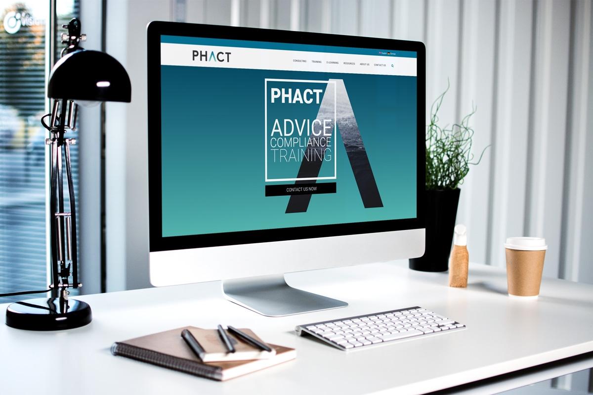 medienvirus - WordPress & WooCommerce aus Berlin - neue Webseite für Phact