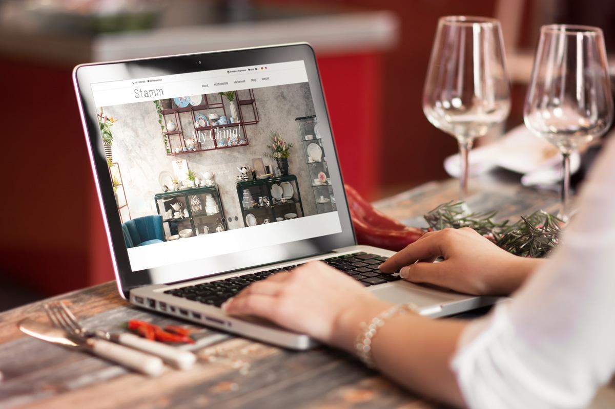 medienvirus - WordPress & WooCommerce aus Berlin - neue Webseite für Stamm