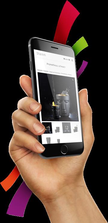 medienvirus - WordPress & WooCommerce aus Berlin - neue Webseite für Stamm - Responsive Webdesign