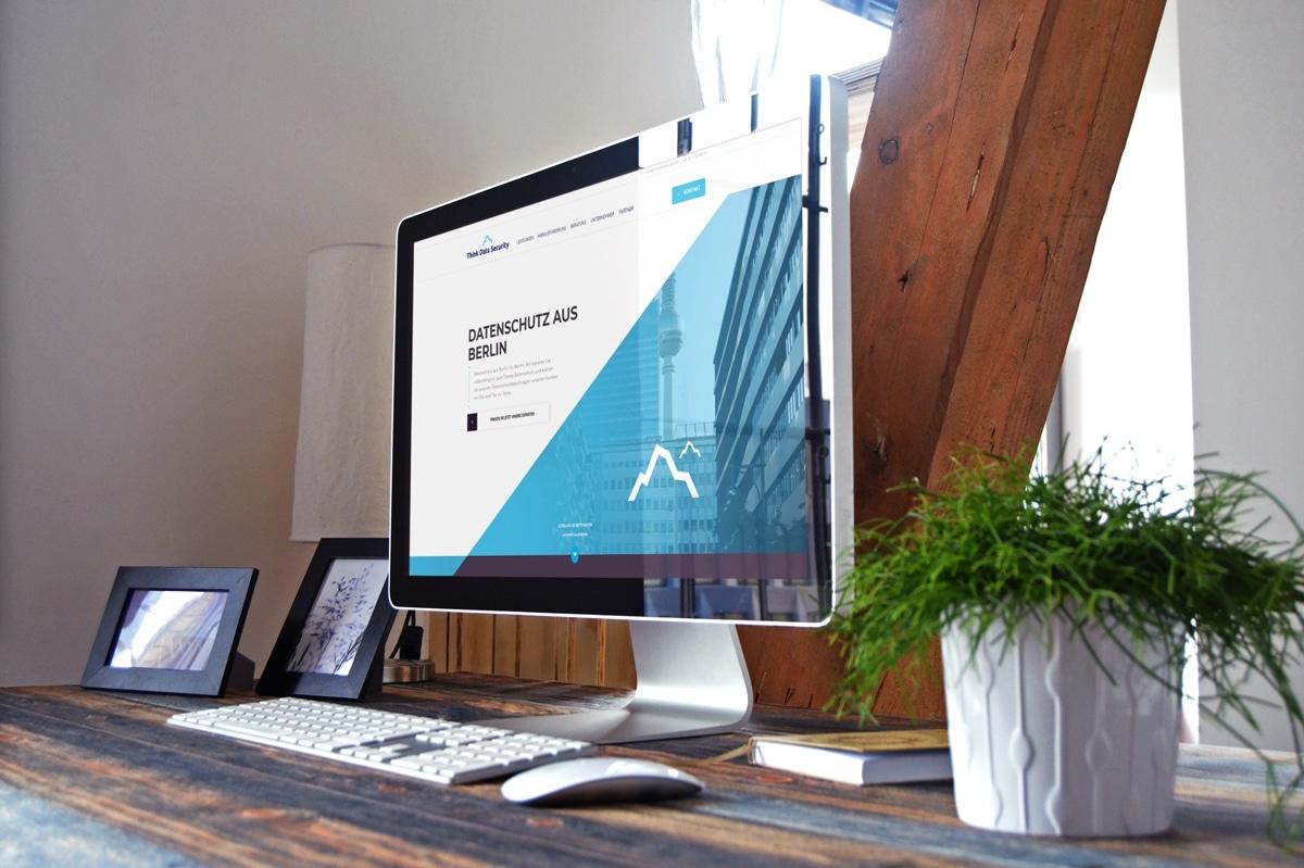 Eine neue Website für THINK.DATA.SECURITY von medienvirus - WordPress & WooCommerce aus Berlin - responsive Webdesign