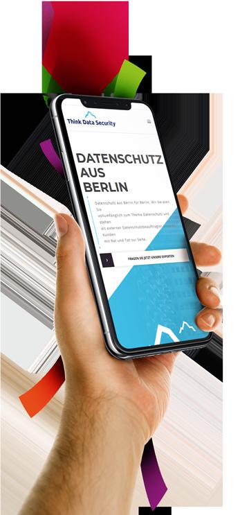 medienvirus - WordPress & WooCommerce aus Berlin - neue Webseite für THINK.DATA.SECURITY - Responsive Webdesign