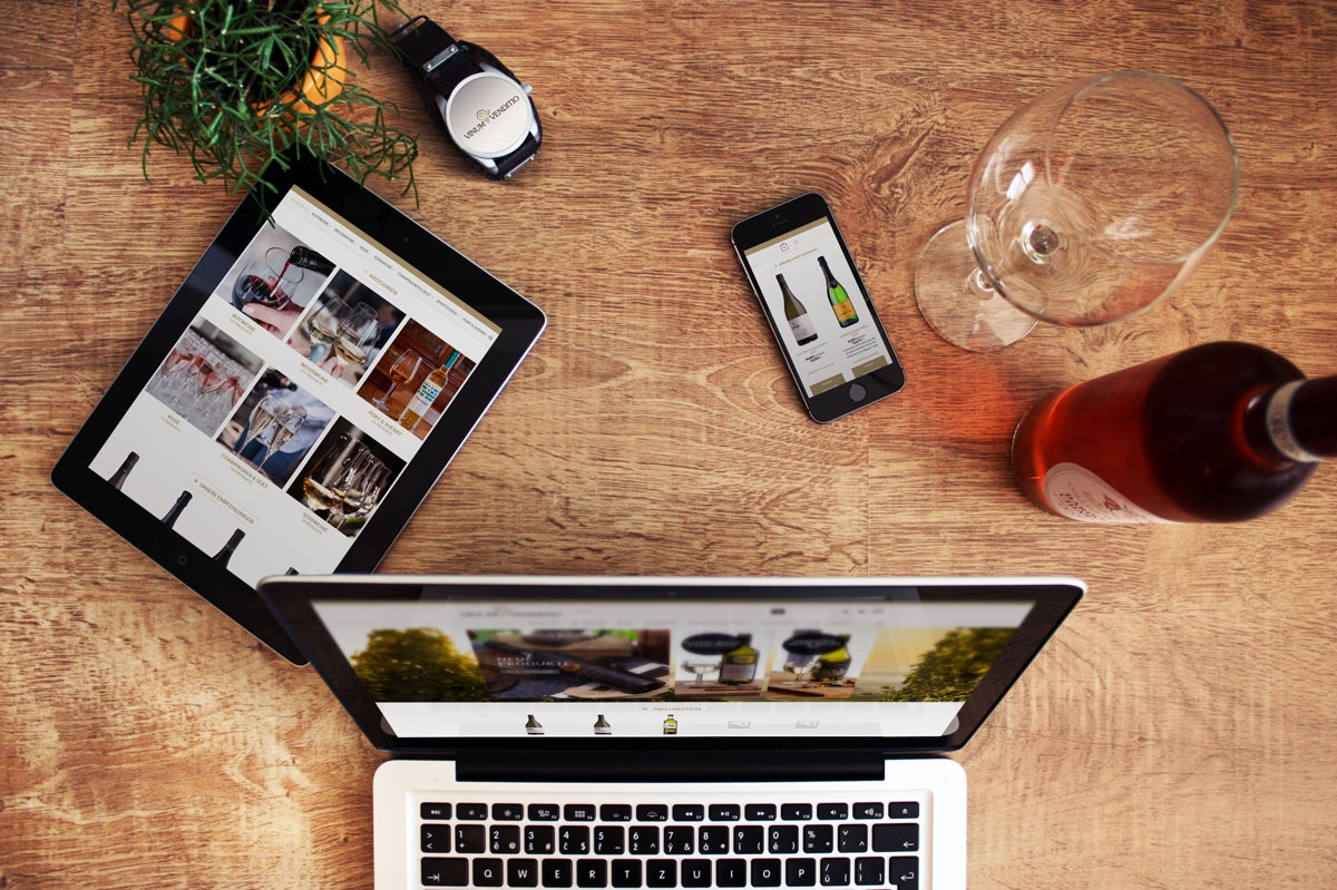 WordPress und WooCommerce aus Berlin direkt von den Experten - medienvirus.de – neue Webseite für Vinum Venditio