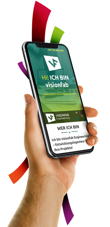 medienvirus - WordPress & WooCommerce aus Berlin - neue Webseite für visionfab - freiberuflicher Entwicklungsingenieur - Responsive Webdesign