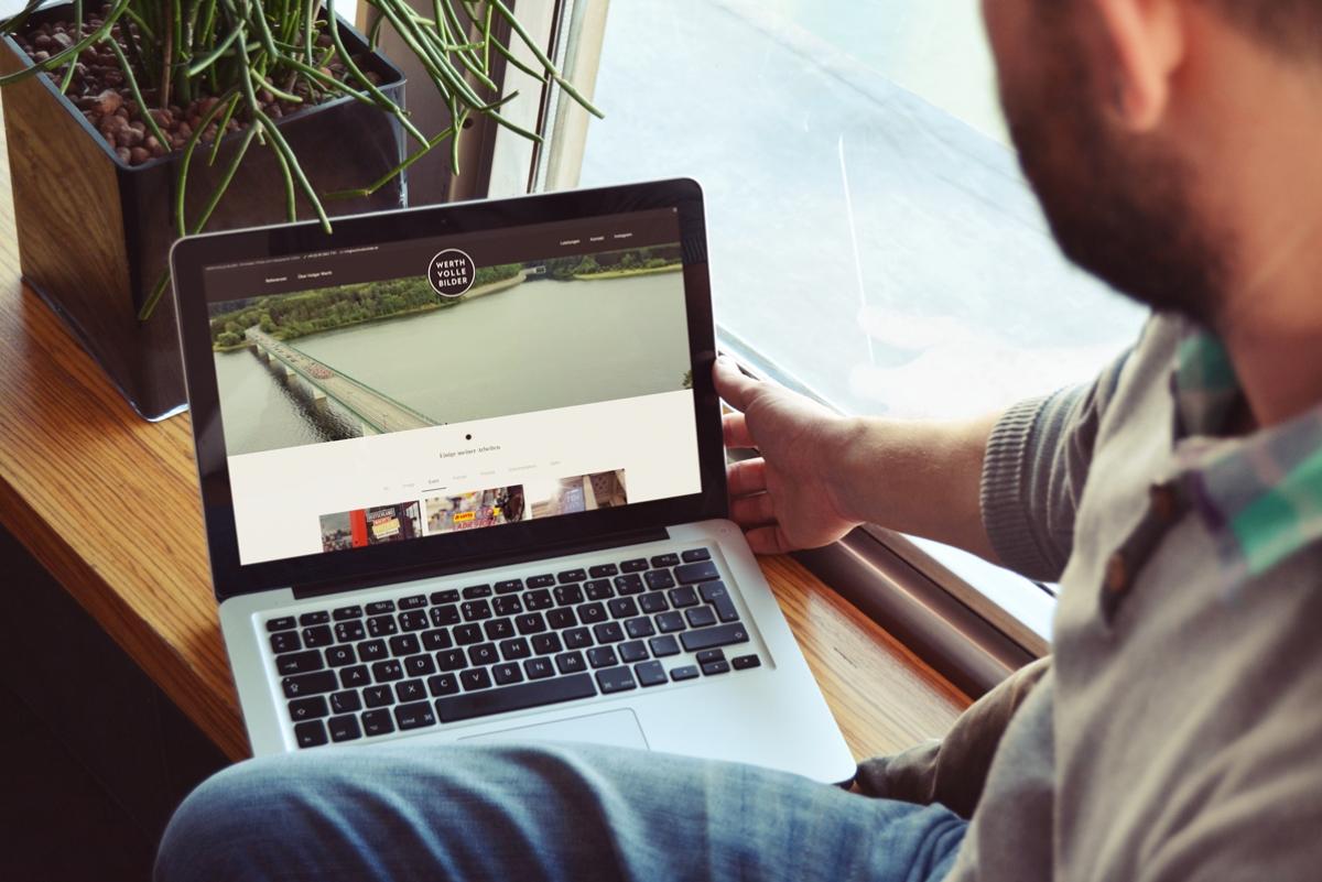 Eine neue Website für Werthvolle Bilder von medienvirus - WordPress & WooCommerce aus Berlin - responsive Webdesign