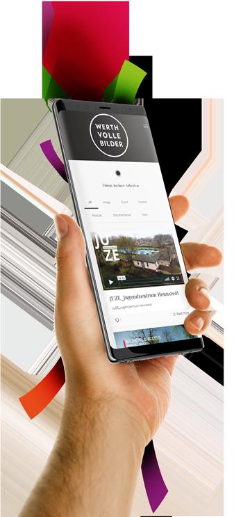 medienvirus - WordPress & WooCommerce aus Berlin - neue Webseite für Werthvolle Bilder - Responsive Webdesign
