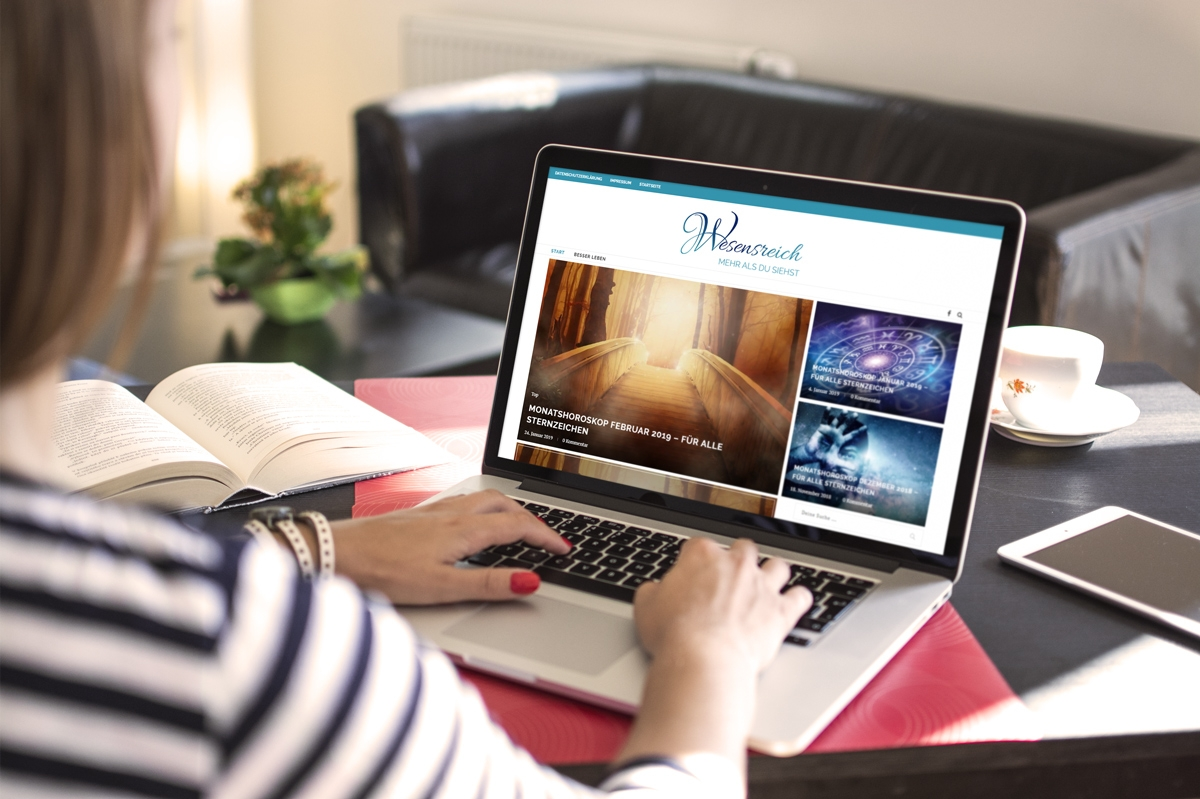 medienvirus - WordPress & WooCommerce aus Berlin - neue Webseite für Liebe & Familie, Wesensreich und Buntblatt.blog - Responsive Webdesign