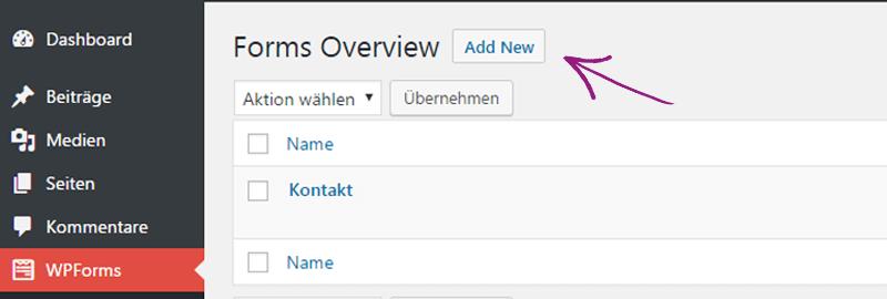 WordPress aus Berlin - Wie man ein Kontaktformular Popup einrichtet by medienvirus - get infected