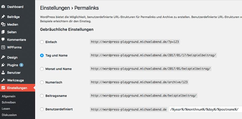 WordPress aus Berlin - Wie man Permalinks individualisiert by medienvirus