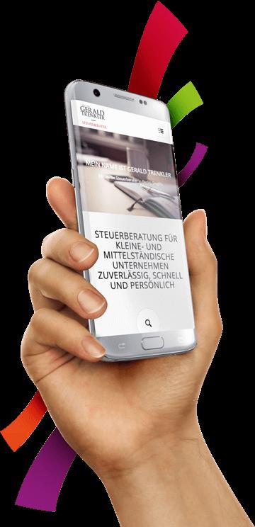 WordPress aus Berlin - Neue Website für den Steuerberater Gerald Trenkler - Responsive Webdesign