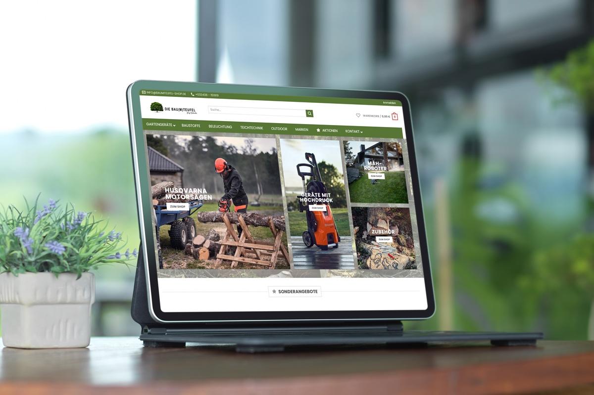 WordPress und WooCommerce aus Berlin direkt von den Experten - medienvirus.de – Die Baumteufel