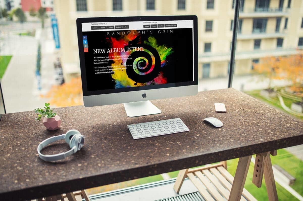 WordPress & WooCommerce aus Berlin - Neue Website & Onlineshop für die Band Randolph's Grin