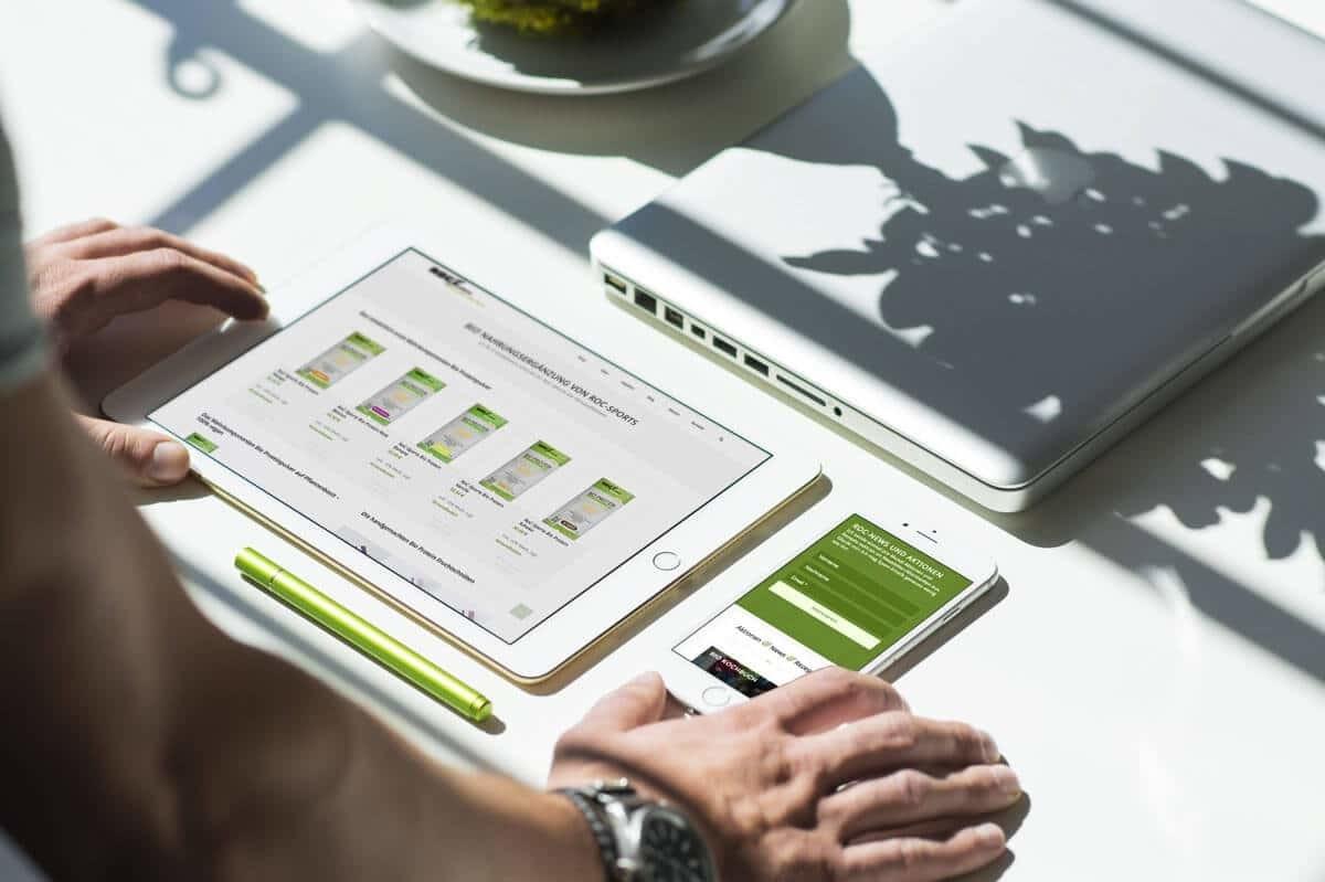 WordPress & WooCommerce aus Berlin - Neue Website & Onlineshop für den Onlineshop von Roc Sports - Responsive Webdesign